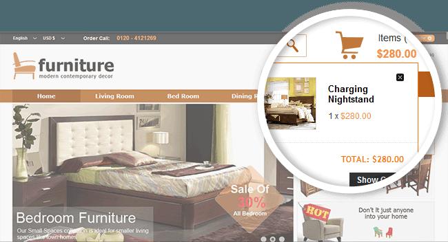 Effective Joomla eCommerce Template